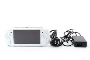 Sony-PSP-3000-Launch-Edition-Pearl-White-Handheld-System-Console-Excellent
