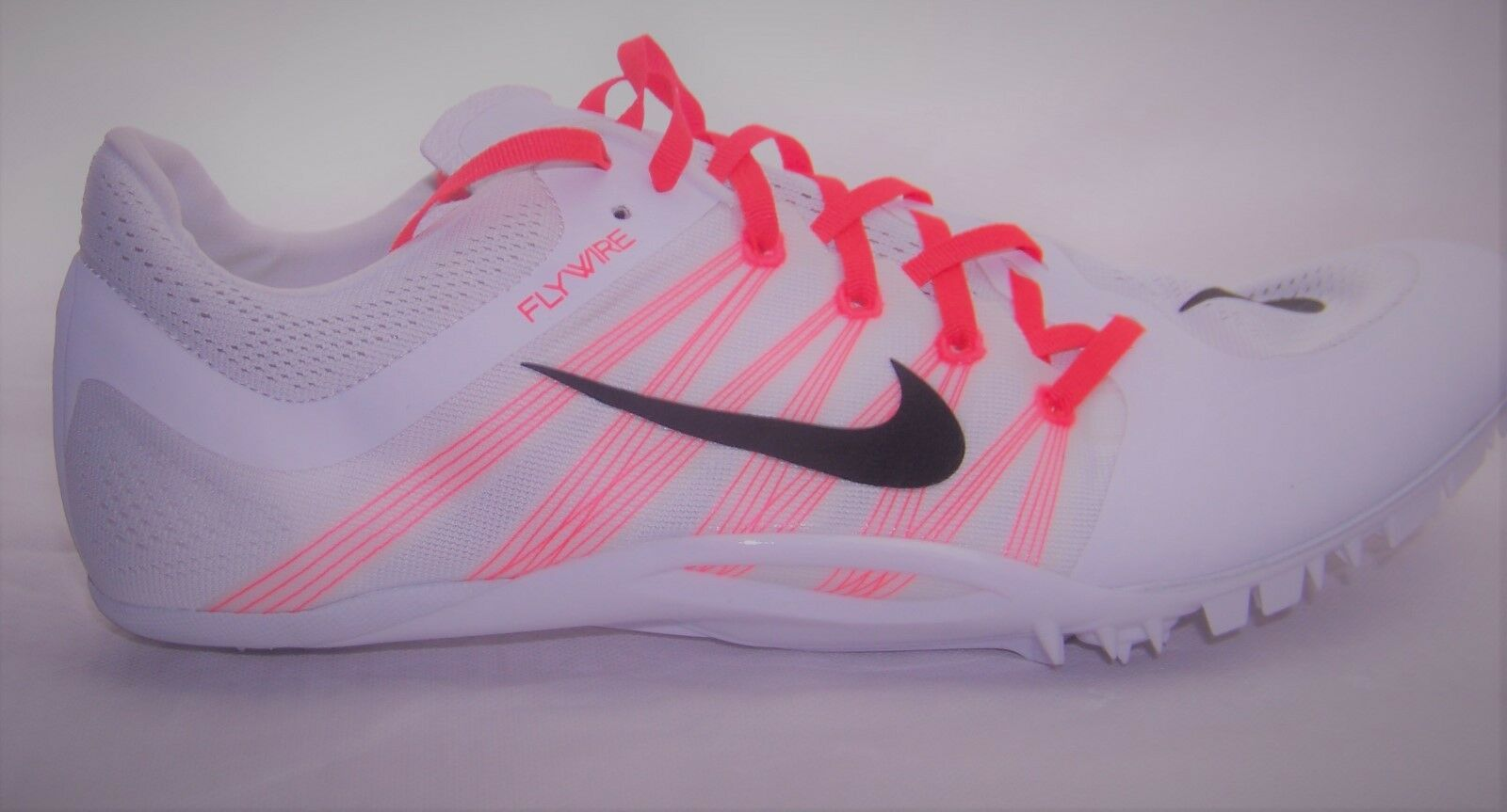 Mens Nike Zoom Ja Fly 705373 2 101 Track Spikes Size 14 Sprint Shoes White Field
