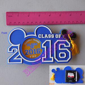 New Authentic Original Disney Mickey Graduation Class 2016 Picture