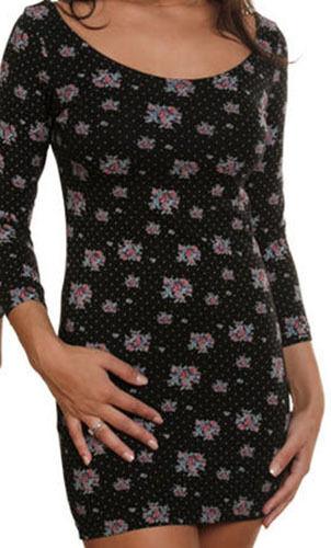 Element Windsor Kleid (M) Schwarz
