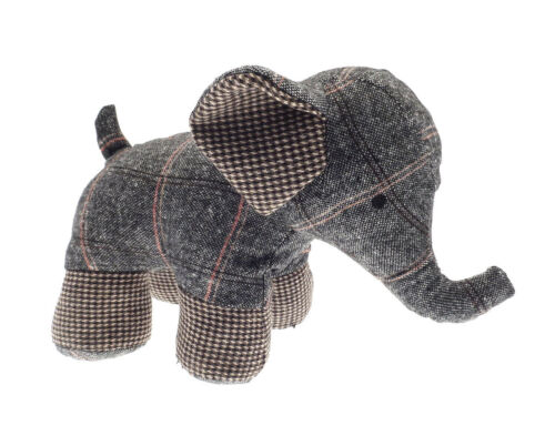A Novelty Elephant Tapestry Type Door Stop