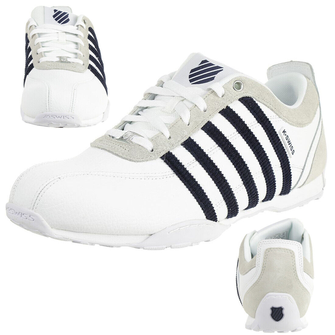 K-Swiss arvee 1.5 zapatos zapatillas Weiss 02453-138-m