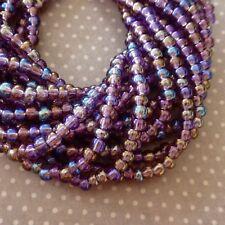 150 beads Czech Glass Beads 4.1mm Amethyst AB, SB6-21060