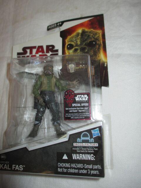 Star Wars Legacy Collection Hrchek Kal Fas 2009