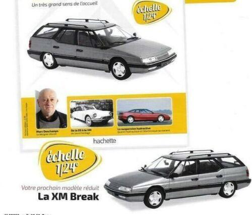 Citroën XM Break 1:24 New /& Box diecast model car collectible