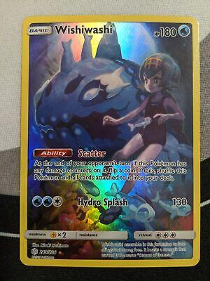 4 x NM Wishiwashi Secret Rare Cosmic Eclipse Pokemon TCG 240//236