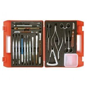 Renfert-Laboratory-Deluxe-Set-Dental-Technician-Instruments-Bridge-amp-Crown-Tools