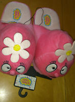 Yo Gabba Gabba Pink Plush Foofa Slippers Shoes Womens Misses Sz 7/8