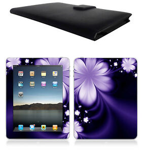 Apple-Ipad-1st-generation-Leather-Case-Cover-Skin-Screen-Protector-BK01