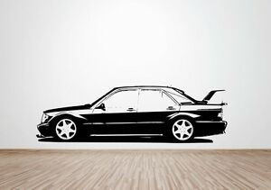 Mercedes 190E Evolution 2 2516 wall art decal  sticker cosworth - <span itemprop='availableAtOrFrom'>Taunton, United Kingdom</span> - Mercedes 190E Evolution 2 2516 wall art decal  sticker cosworth - Taunton, United Kingdom