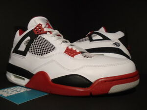 quality design 24c3f 7ed19 Image is loading NIKE-AIR-JORDAN-IV-4-RETRO-WHITE-MARS-