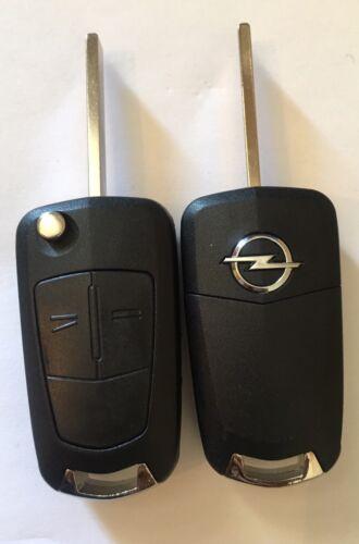 Clé Vierge Électronique Opel Vauxhall Vectra C Id46 2 Boutons 100/% Testé