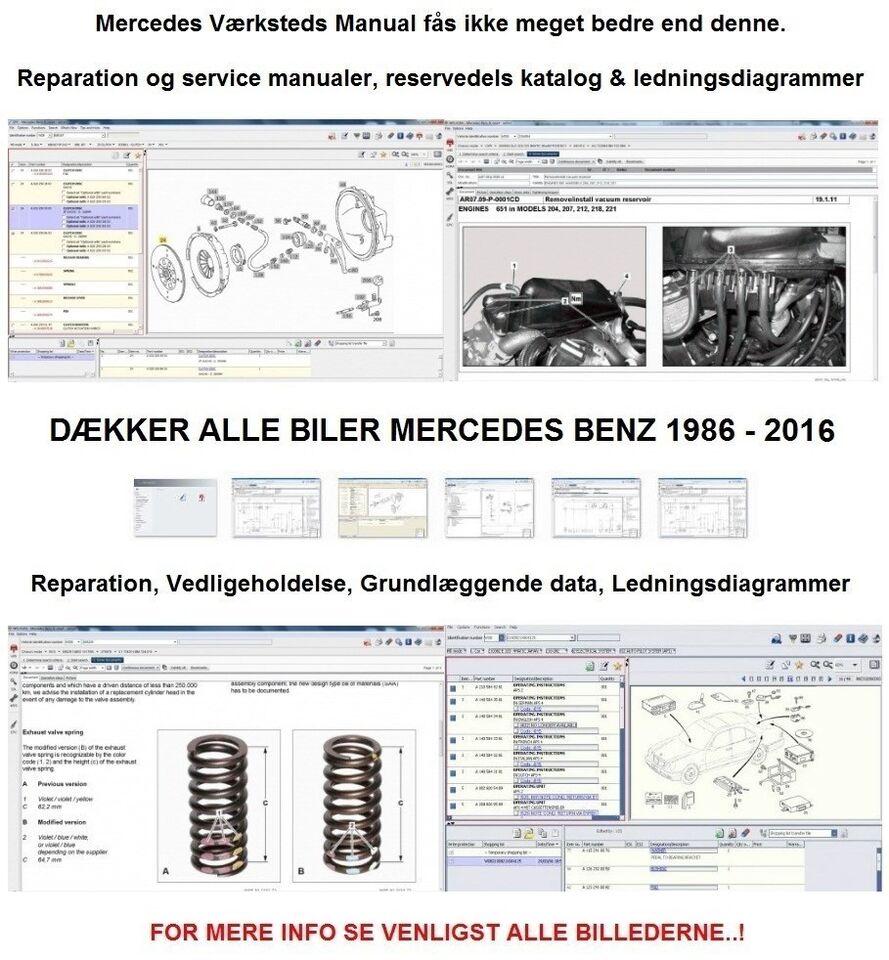 Mercedes EPC & WIS ASRA 2016 beskrivelse af man...