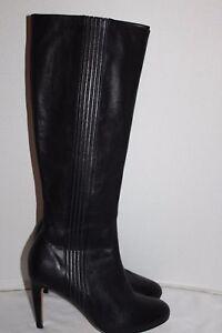 B haut 1 porté Beau Cole Talon Haan cuir ~ Bottes ~ ~ noir ~ cuir Bottes en en 2 noir ~ Peu ~ 8 4qOw14Hn