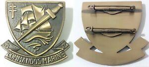 Insigne De Béret Des Forces Spéciales Commandos Marine Armée Française Tdm Ebay