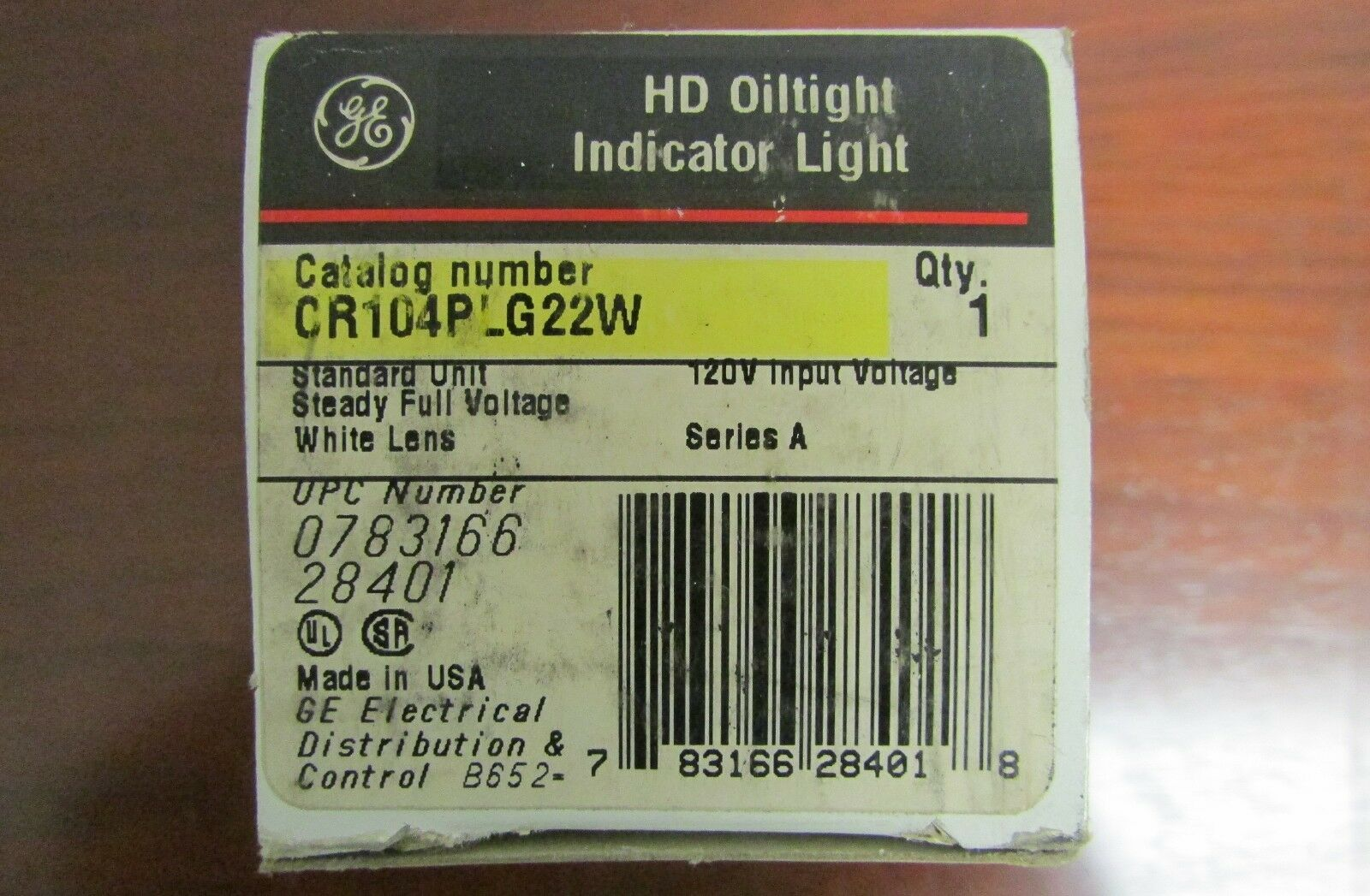 General Electric Ge Hd Oiltight Indicator Light Cr104plg22w Ebay 5pcs 24v 8mm Red Led Power Signal Xd8 1 Norton Secured Powered By Verisign