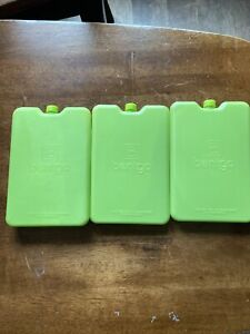 Bentgo Kids Lunch Box Ice Packs Reusable Green Lot Of 3