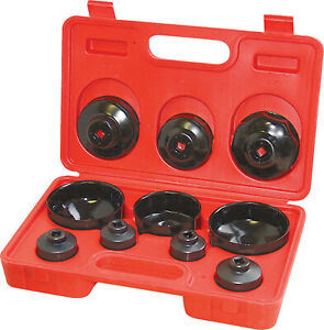 10-Piece-Cup-Type-Oil-Filter-Wrench-Set
