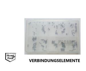 Kegelkuppe V2A M2  200 Teile Madenschrauben Sortiment DIN 913 Innensechskant u