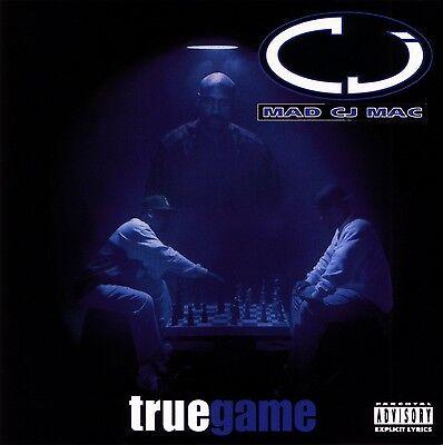 MAD CJ MAC TRUE GAME '95 OG RARE OOP HTF RAP-A-LOT CD! POPPA LQ WEST SIDE LOC'S