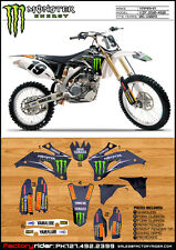 2006-2009 YAMAHA YZF 250 450 M Claw  Motocross Graphics DIRT BIKE GRAPHICS