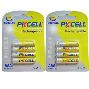 1-2V-600mAh-NiMh-AAA-Rechargeable-Batteries-Solar-Light-Battery-8-Packs