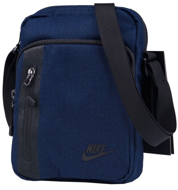 Nike Core 3.0 Small Items Denim Blue Black Shoulder Man Bag Mens Ba5268 451