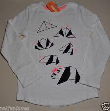 Gymboree girls size 4 NWT how to make a panda bear top long sleeve 100% cotton