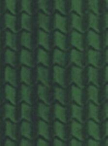 Javis DHGTS - Green Tile Paper - Dolls House Background Sheets + POSTAGE
