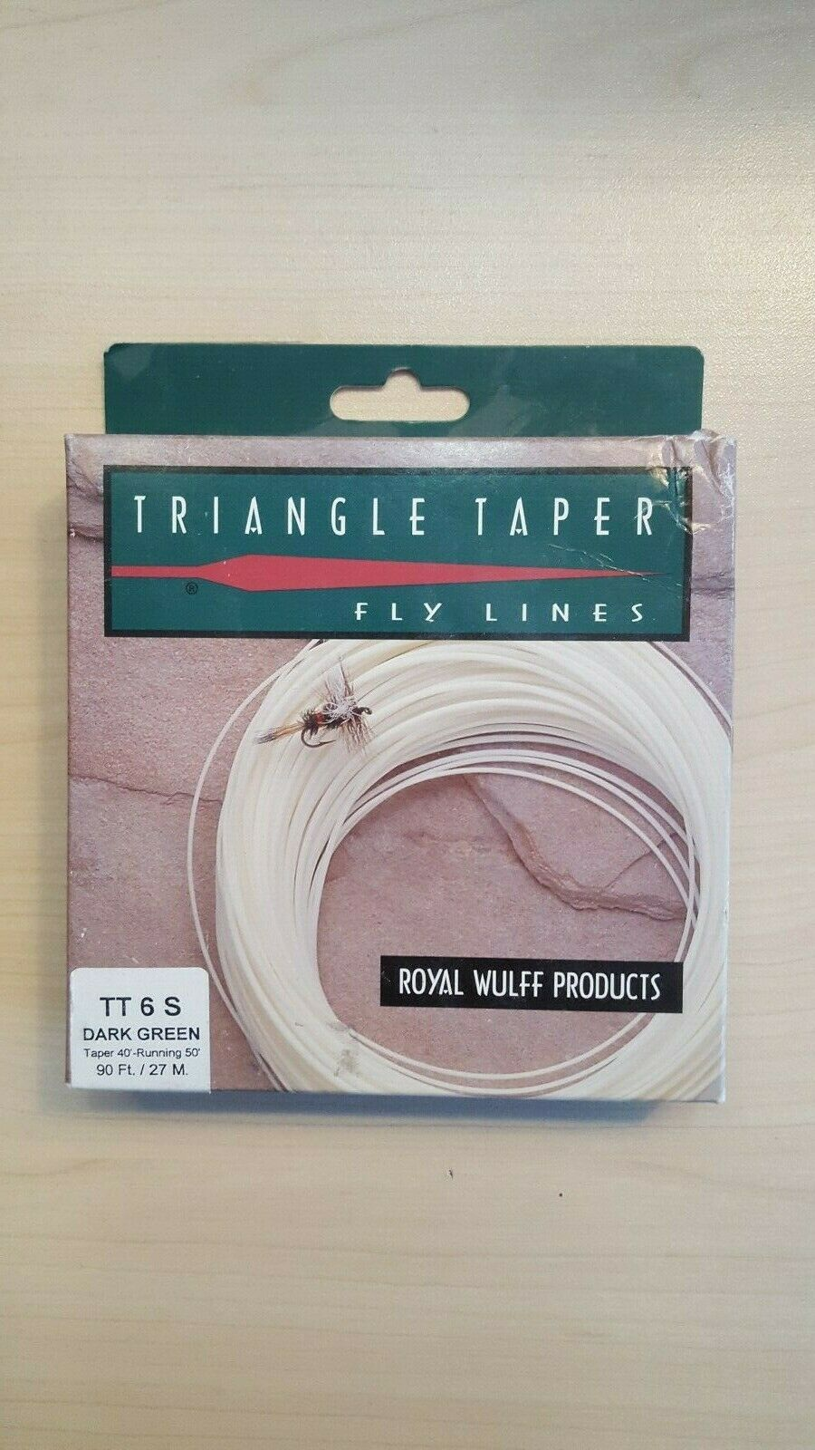 Royal Wulff Products Triangle Taper Fly Lines TT6S Dark verde