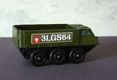 Matchbox Lesney Stickers 61b Alvis Stalwart for the Rarer Olive Military Model