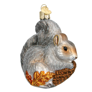 Old-World-Christmas-HUNGRY-SQUIRREL-12277-N-Glass-Ornament-w-OWC-Box
