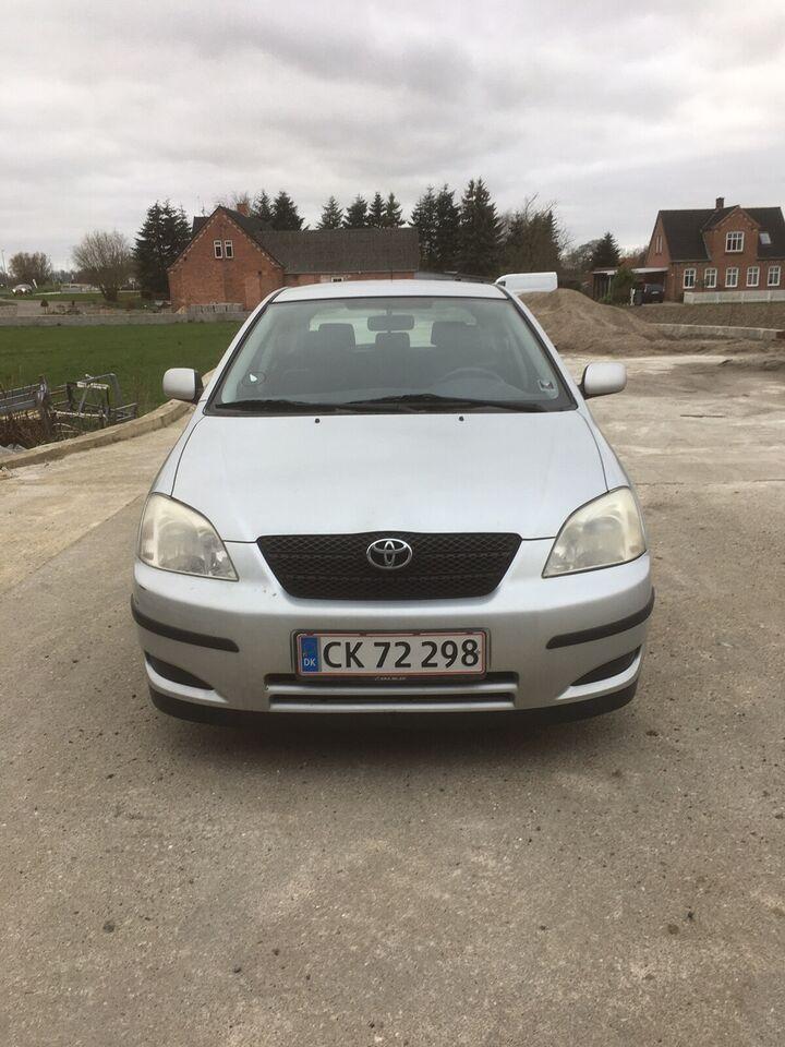 Toyota Corolla, 1,6 Sol, Benzin