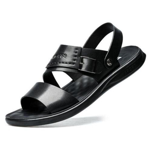 Summer Men Slingback Open Toe Roman Beach Sandals Sports Walking Shoes Slippers