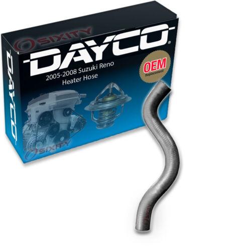 Heater To Tee HVAC Radiator xz Dayco Heater Hose for 2005-2008 Suzuki Reno