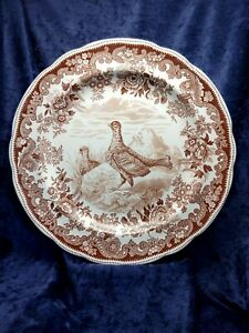 4 Dinner Plates Antique Vintage Copeland Spode Buttercup Made In Great Britain
