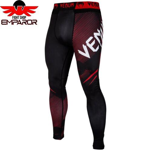 Venum Compression Spats NoGi 2.0 Schwarz BJJ MMA Grappling Spats Legging Herren
