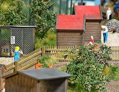 Ho Scale Model Railroads & Trains Lovely Busch 6006 'picket' Fencing Kit Oo Scale