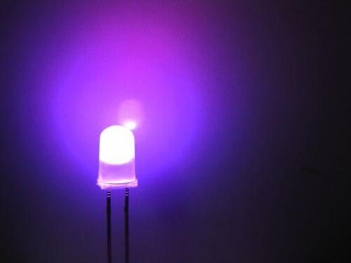 100pcs 5mm Diffused RGB Rainbow Slow Flashing Flash Red Green Blue LED Leds