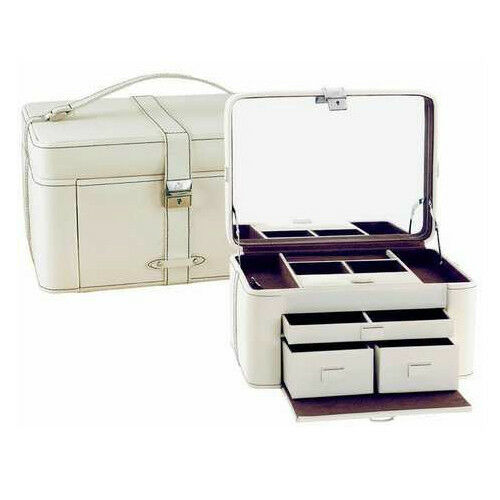 AB Collezioni Girls Ladies Womens Delices Jewellery Travel Box Case With Handle