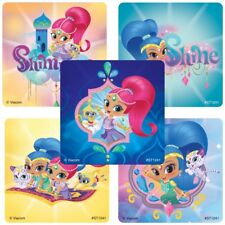 20 Shimmer and Shine STICKERS Party Favors Supplies Treat Loot Bags Teacher