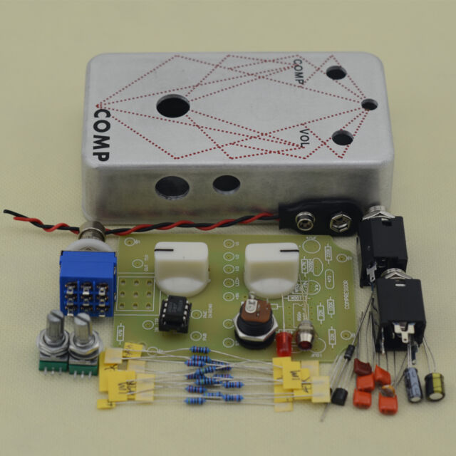 Build Your Own Compressor  Effect pedal guitar stomp pedals Kit