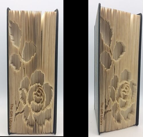 Livre pliage motif-marque mesure cut /& fold-rose