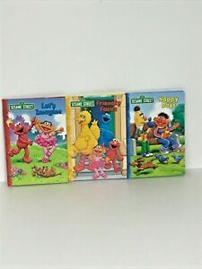 3 Sesame Street Friendly Faces Let's Imagine Happy Days Readers Digest Book