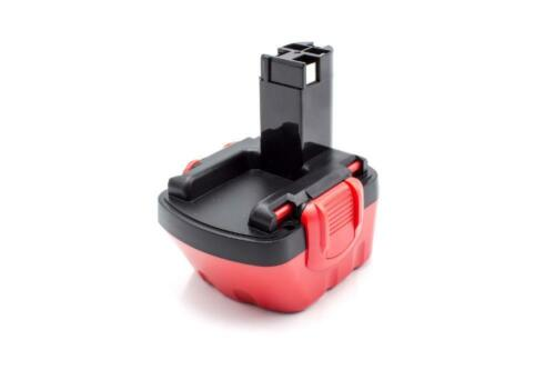 GLI 12 PSR 12 rouge pour BOSCH GSB 12 BATTERIE d/'outil 12V 1500mAh noir