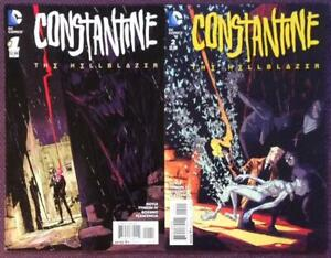 Constantine-The-Hellblazer-1-amp-2-DC-2015-VF-and-NM-condition