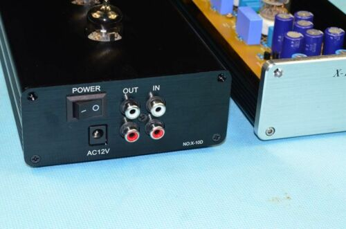 HIFI 12AU7 Tube preamp base on Musical Fidelity X-10D line Power supply  L7-13