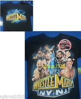 Wwe Wrestlemania 29 T-shirt Child 4 5 6 7 8 10 12 14 16 18 Cena Rock Ny Nj