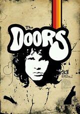 K447 The Doors American Rock Band Jim Morrison Vintage Poster Wall Silk Art