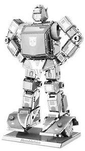 Bumblebee-Transformers-3D-Metal-Kit-Metal-earth-3301